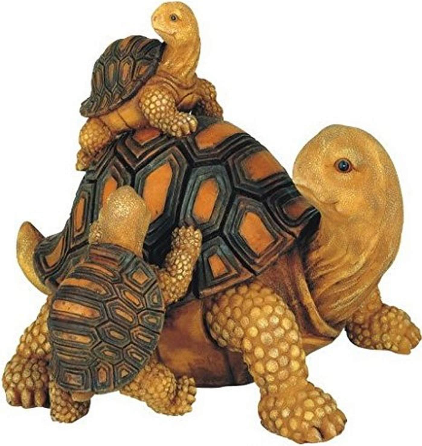 Chen Imports SS-G-61058 3 Turtles On Seesaw Garden Decoration Collectible figure Statue Model GSC George S