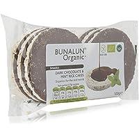 Bunalun Organic Dark Chocolate & Mini Rice Cakes - 100 gm