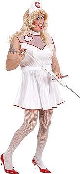 WIDMANN Widman - Disfraz de enfermera de hospital para hombre ...