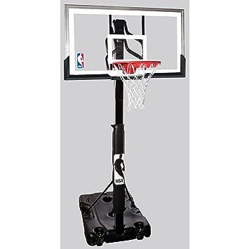 Amazon Spalding 68395w Nba Portable Basketball Hoop With 54