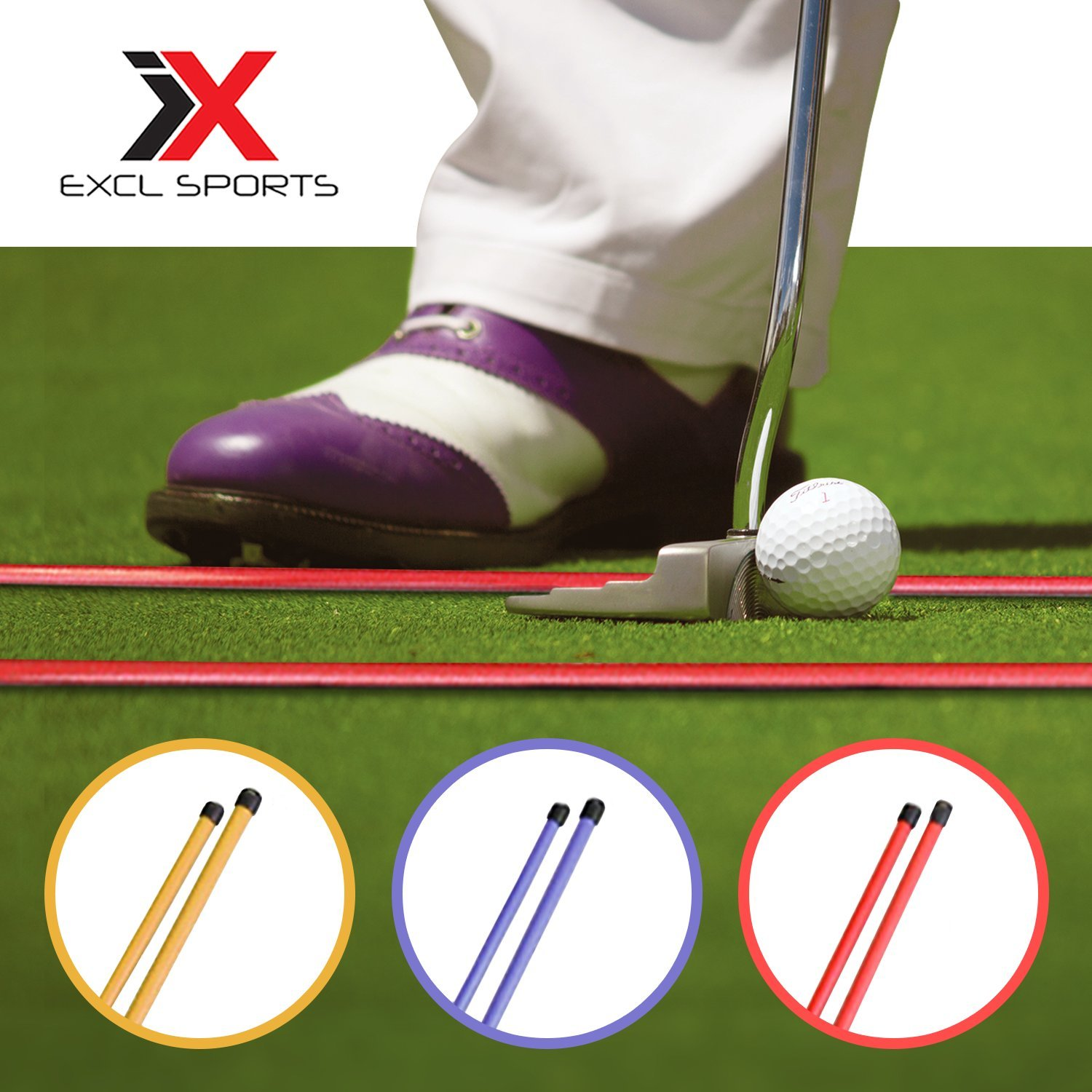 Amazon.com: excl Deportes Golf Alignment de incienso, lote ...