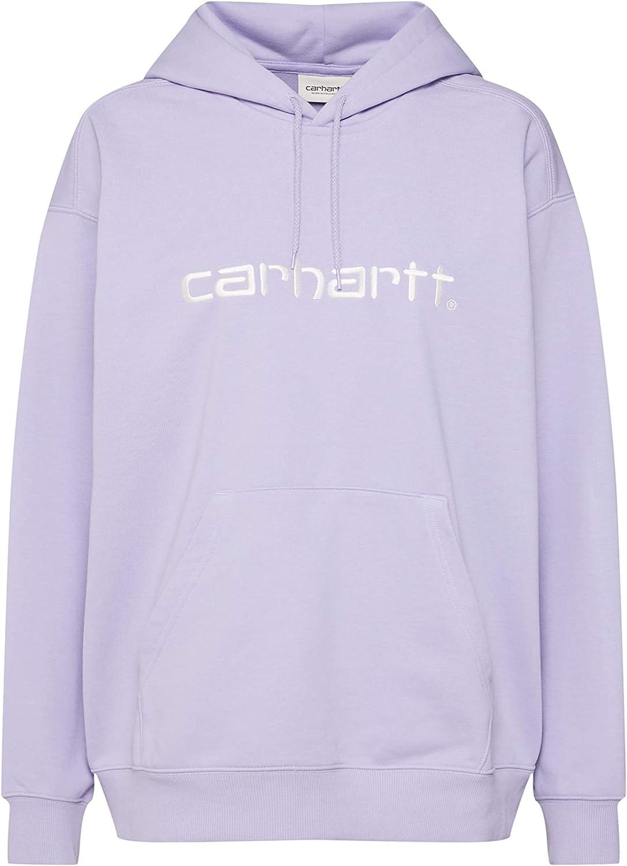 Carhartt WIP W'Hooded Sweatshirt à Capuche pour Femme Soft