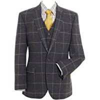 Samuel Windsor Men's Single Breasted Tweed Jacket