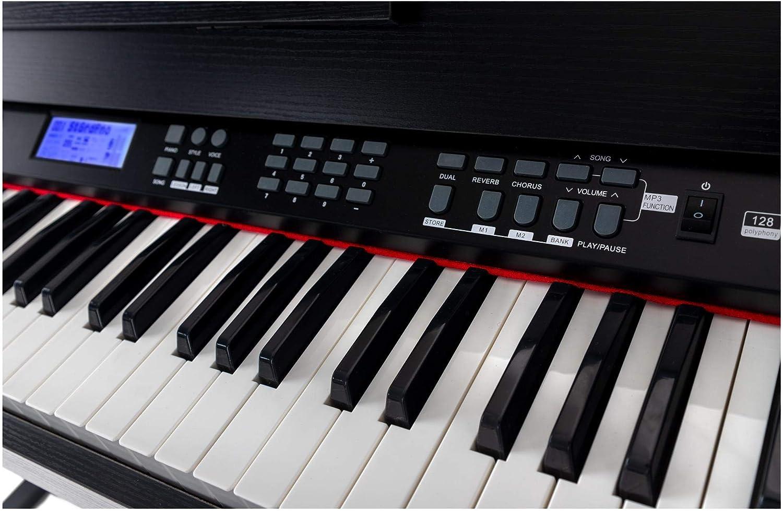 FunKey DP-88 II piano digital negro: Amazon.es: Instrumentos musicales