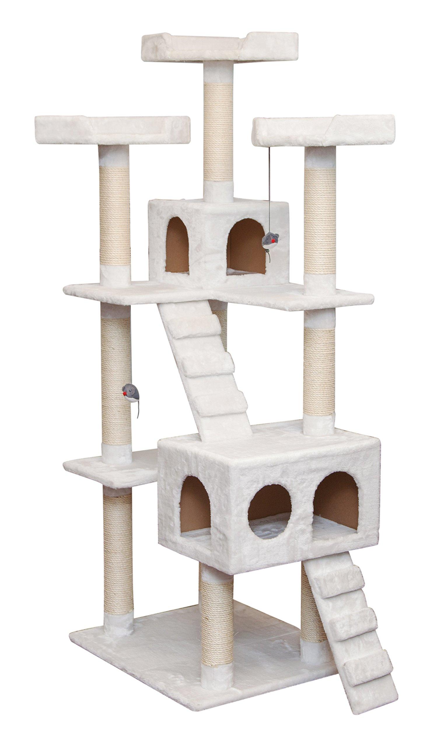 IRIS 7-Tier Cat Tree Condo, Cat Playhouse by IRIS USA, Inc.
