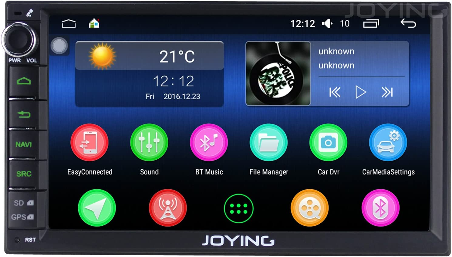 JOYING - Estéreo para Coche (2 GB, 32 GB, Android 6.0, Doble DIN ...