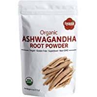 Organic Ashwagandha Powder, Withania Somnifera,Boosts Sleep and Energy, Resealable Pouch