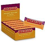Larabar Gluten Free Bar, Peanut Butter & Jelly, 1.7 oz Bars (16 Count), Whole Food Gluten Free Bars, Dairy Free Snacks