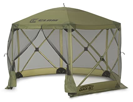 Clam Corporation 9281 Quick-Set Escape Shelter 140 X 140-Inch Forest  sc 1 st  Amazon.com & Amazon.com : Clam Corporation 9281 Quick-Set Escape Shelter 140 X ...