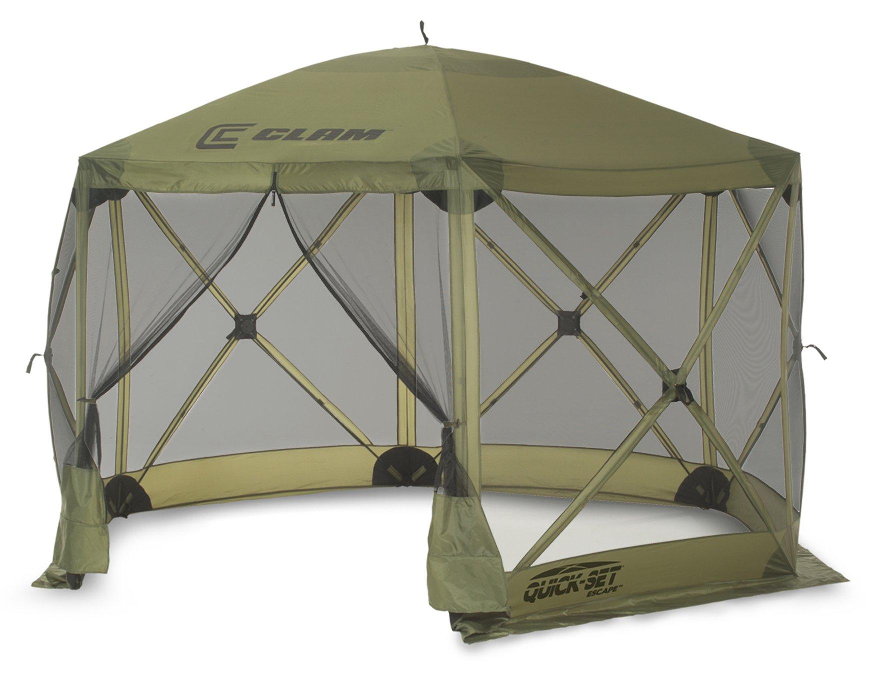 Quick Set 9281 Escape Shelter Popup Tent, 12 x 12 Green