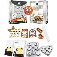Yigwang Cortador de galletas de hueso de perro, cortadores de galletas para golosinas, kit de moldes de golosinas para…