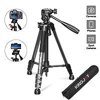 Kingjoy 58-inch Lightweight Camera Tripod Deals