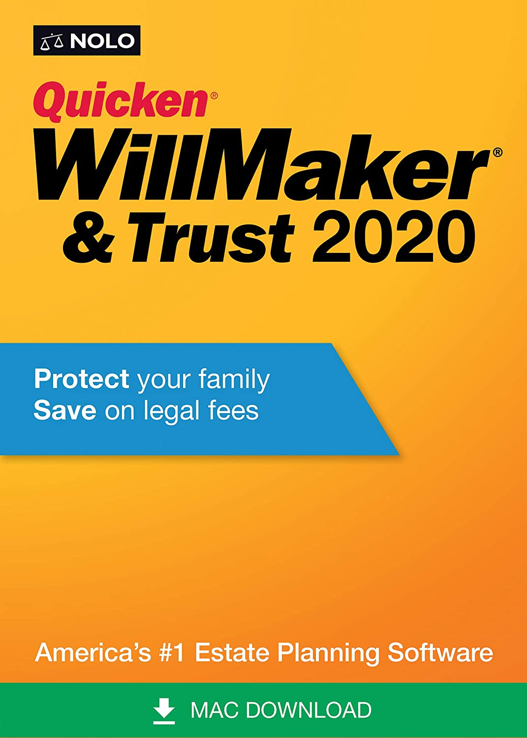 Quicken WillMaker & Trust 2020 [Mac Download]
