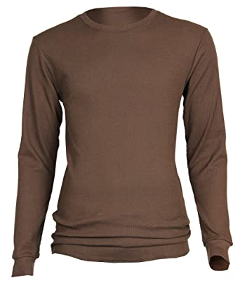 Access Fitted Long Sleeve Thermal Shirt at Amazon Men's Clothing ...