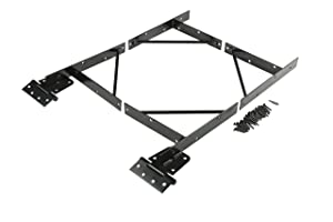 Anti Sag Gate Kit N109-060 by National Hardware in Black