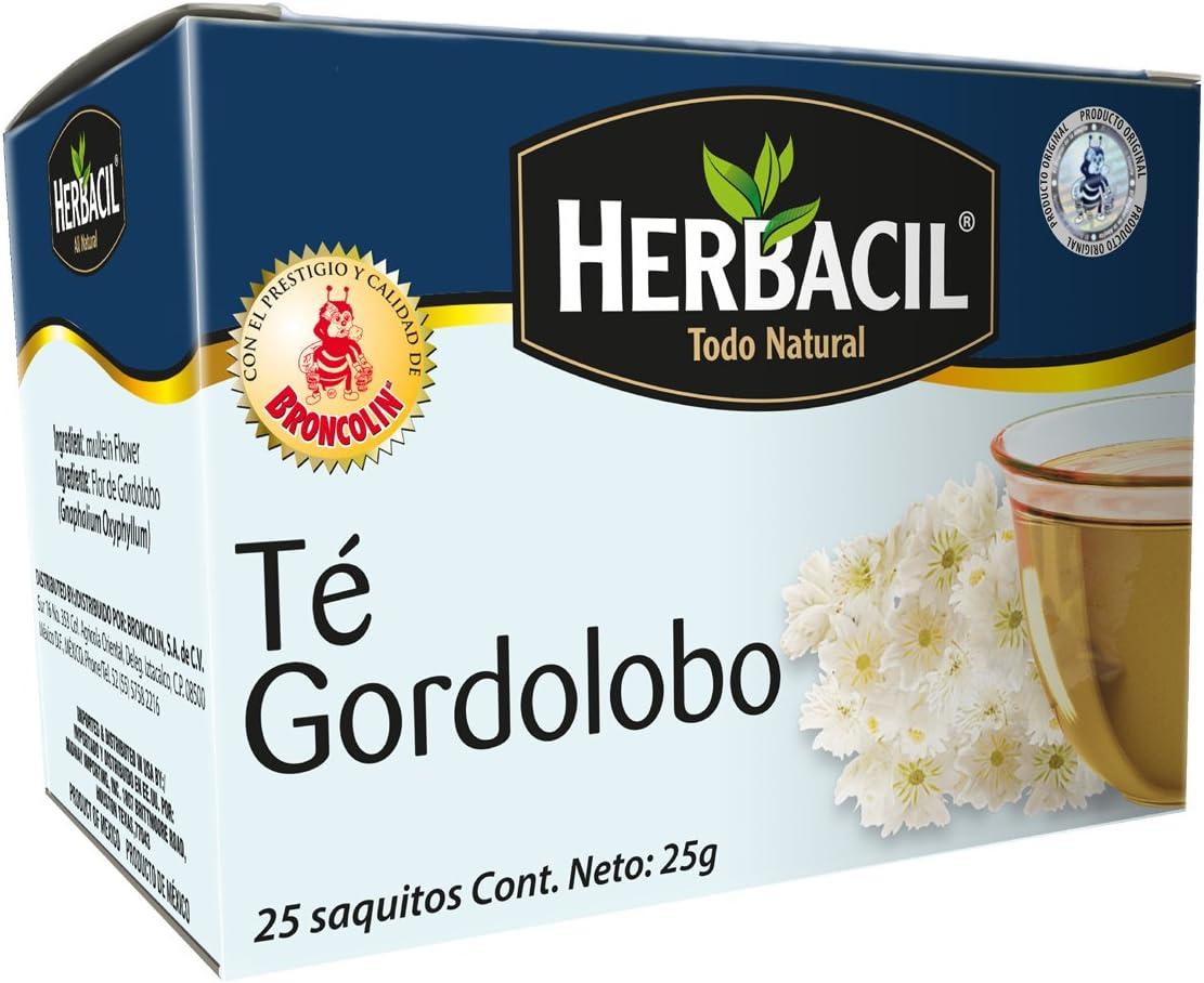 Broncolin Broncolin Herbacil Te Gordolobo Pack Of 1 Mx Salud Y Cuidado Personal