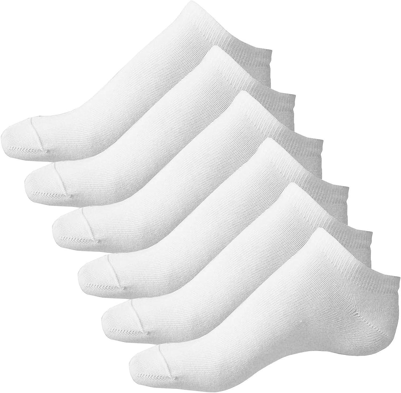 SODIAL 3 paires noir de Chaussettes de Sport en Coton Riche noir pour Homme R 3 paires blanc
