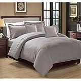 Moon Hotel Stripe Comforter 4Pcs Set, Single Size, BG-003