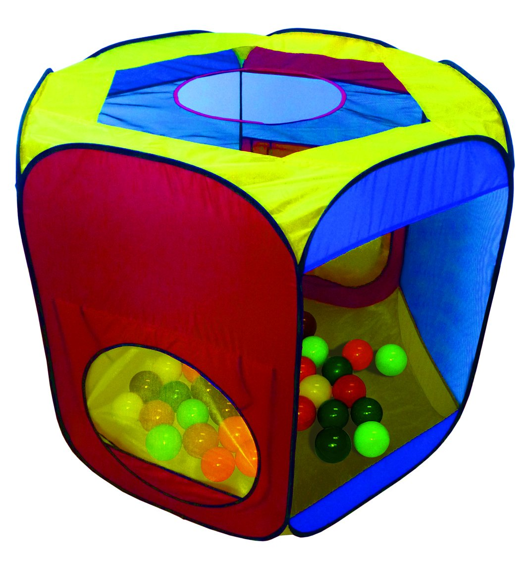 OsoFun Kids POP UP Play Tent Ball Pit 250 Play Balls