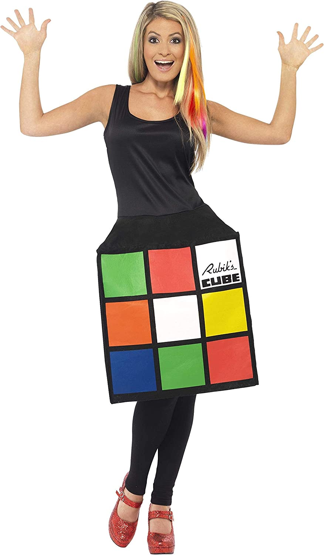 Smiffys-39170L Miffy Licenciado Oficialmente Disfraz del RubikS ...