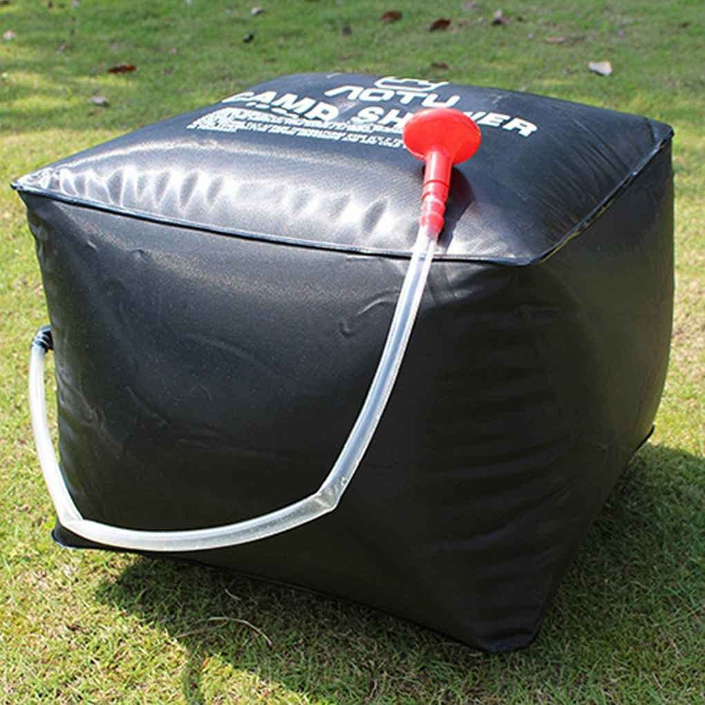 Ben-gi 40L Ducha Solar Bolsa de Camping al Aire Libre Senderismo Ducha Paquete port/átil Bolsa de Agua Ligera de ba/ño de Bolsillo para Aotu