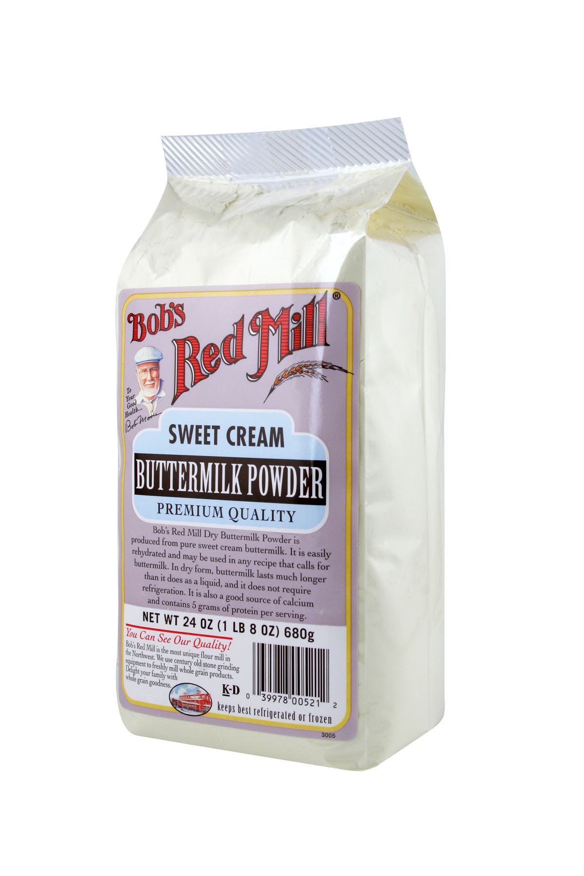 Bob's Red Mill Milk Powder Buttermilk, 24 Ounce Packages (Pack of 4) by Bob's Red Mill (Image #7)