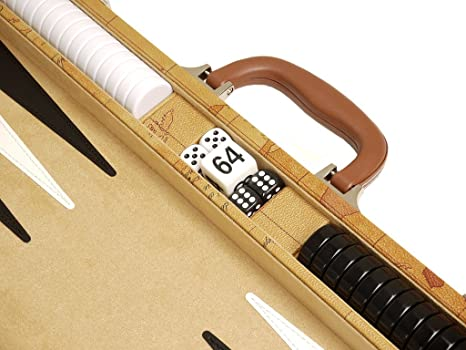 Amazon 18 inch luxurious map backgammon set brown board amazon 18 inch luxurious map backgammon set brown board toys games publicscrutiny Choice Image