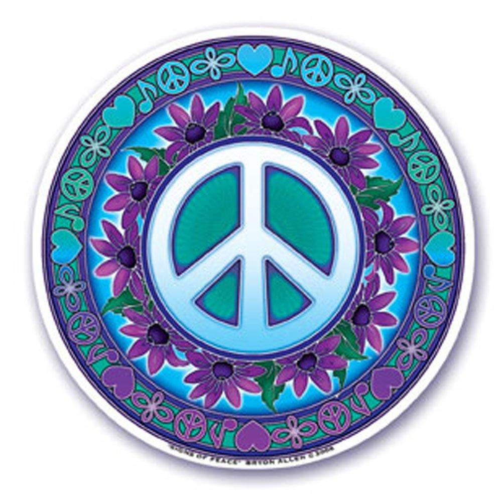 Pegatina Vinilo Roborock S50 Símbolo de la Paz
