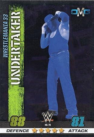 Wwe Slam Attax 10th Edition-Nº 78-Undertaker-OMG