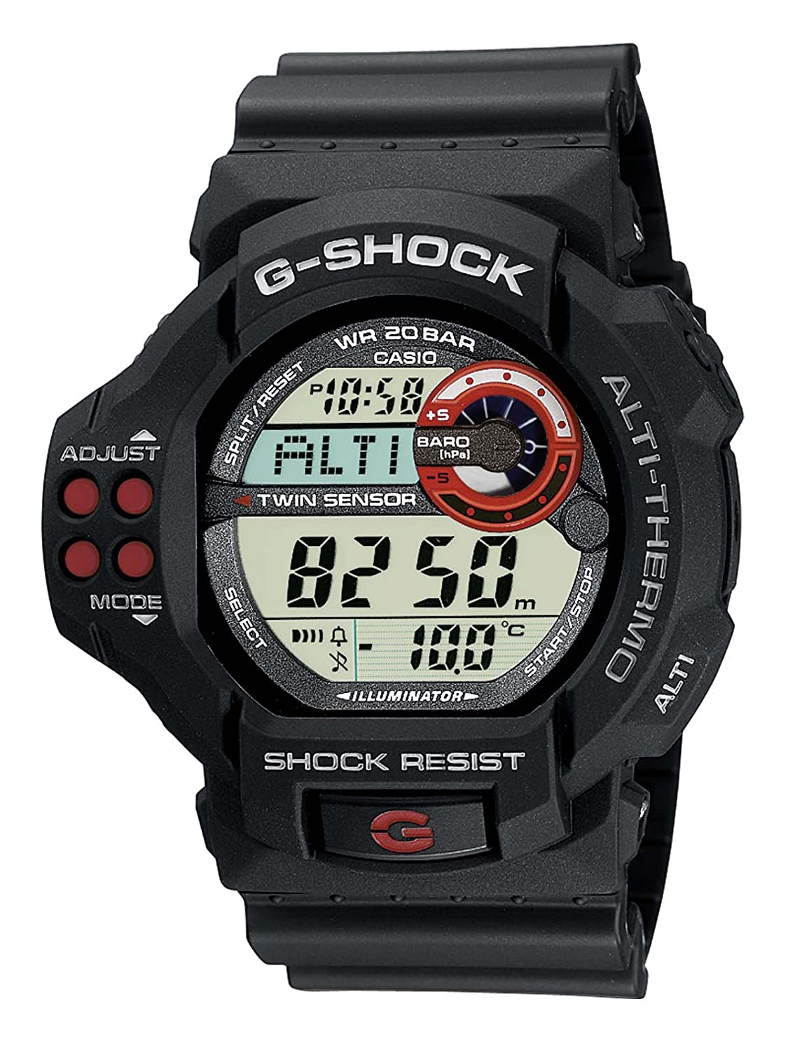 Amazon.com: Casio Mens G-Shock Digital Watch Gdf-100-1Aer With Resin Strap: Watches