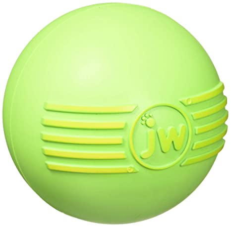 JW JW43032 Juguete Isqueak Ball Large, Pelota De Goma Gruesa para ...