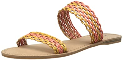 Lucky Womens Alddon Huarache Sandal BeachwoodPepper Size 65