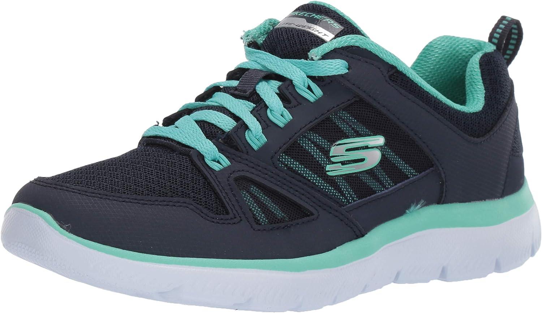 Skechers Summits-New World, Zapatillas para Mujer: Amazon.es ...