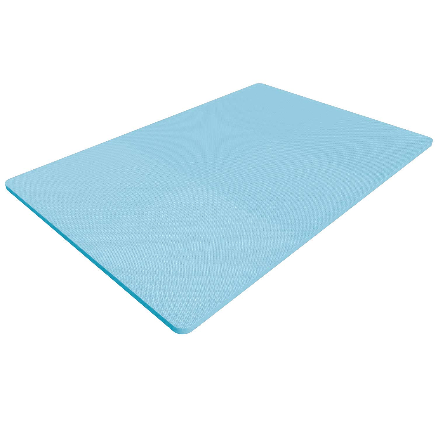 LEVOIT Puzzle Exercise Mat, Premium EVA Foam Interlocking Tiles, Protective Flooring for Gym Equipment and Cushions for Workouts, 24 SQ FT (6 Tiles, 12 Borders) (Blue) by LEVOIT (Image #3)