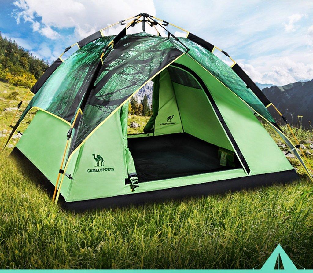 JIE KE Wasserdichte Zelte der Kuppel, bewegliches Campingzelt, hydraulisches automatisches Zelt im Freien 3-4 Etagen Jahreszeiten Konto Zelt, Strandzelt Outdoor Freizeit Zelt, 220  190  120cm