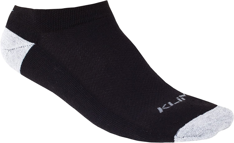 KLIM Adult No Show Socks Black Small