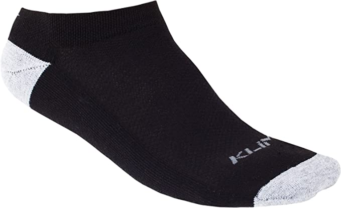 KLIM Adult No Show Socks Small White