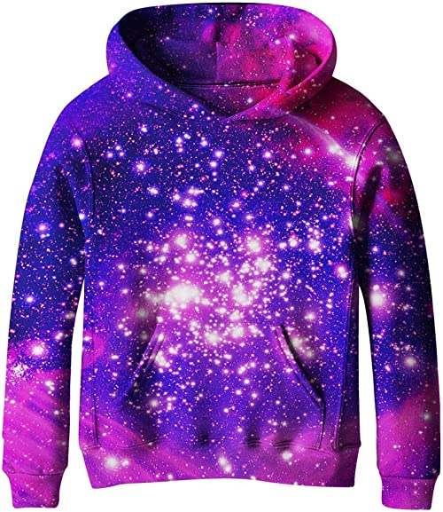 Galaxy Fleece Hoodie