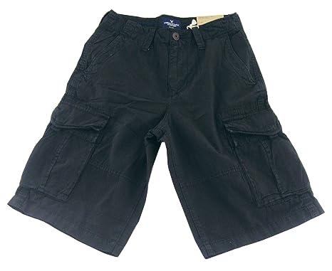 ad3a80f9cd9cf American Eagle Men's LongBoard Shorts, Black, 33 | Amazon.com