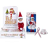 The Elf on the Shelf: A Christmas Tradition Girl Scout Elf (Blue Eyed) with Claus Couture Collection Snowflake Skirt…