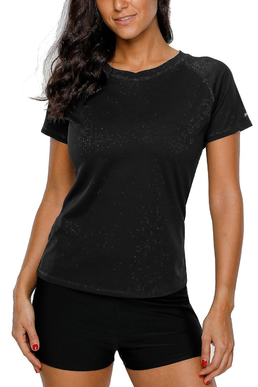 088fb87abca83 Online Cheap wholesale Vegatos Women Short Sleeve Rash Guard Shirt UPF 50+ Swimwear  Rashguard Athletic Top Rash Guards Suppliers