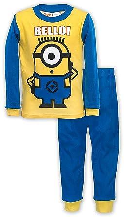 Boys Double Sided Minion Pajama, Size 6