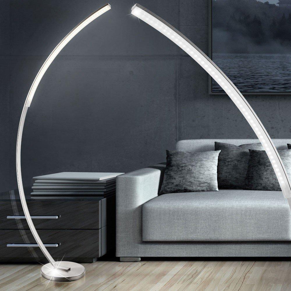 stehlampe gebogen und andere lampen von jykj online kaufen bei mbel u garten with stehlampe. Black Bedroom Furniture Sets. Home Design Ideas