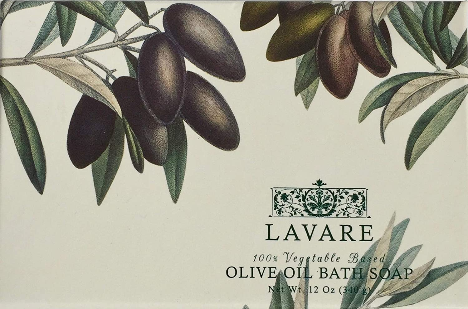 Amazon.com : Commonwealth Soap Extra Large Lavare Olive Oil Bath Soap 12 Oz. : Cst Box Soap : Beauty