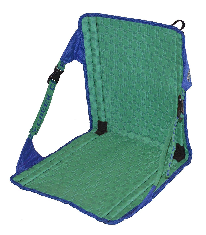 Crazy Creek Products HEX 2.0 Original Chair Royal Blue/Emerald Green [並行輸入品] B077QH3BW1