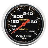 "Auto Meter 5431 Pro-Comp 2-5/8"" Mechanical Water"