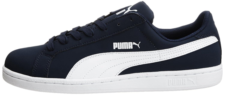 Puma Smash Nubuck, Unisex Adults Low-Top Trainers, Azul (Peacoat/White 01), 3 UK (35.5 EU)