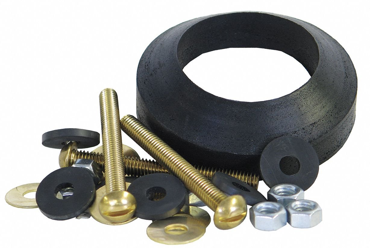Brass and Rubber Tank to Bowl Kit, For Use With Mansfield- Pack of 5 by Kissler (Image #1)
