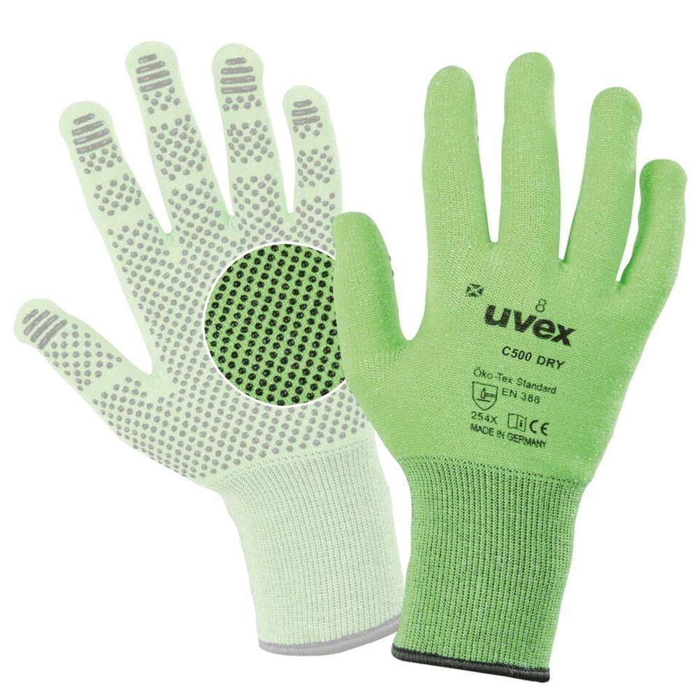 Uvex 6049910 C500 Dry Glove Size 10