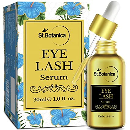 4bbf561eae3 Image Unavailable. Image not available for. Colour: StBotanica Eyelash  Growth Serum ...